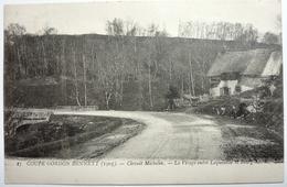 COUPE GORDON BENNETT (1905) - CIRCUIT MICHELIN - LE VIRAGE ENTRE LAQUEUILLE ET BOURG-LASTIC - France