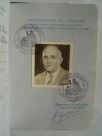 PASSEPORT 1971 : NOUVELLE CALEDONIE / NOUMEA ( FRANCE ) Cachets & Timbre Fiscal 200 Francs - Documents Historiques