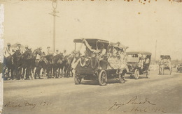 Real Photo Rizal Day 1911 Red Cross Manila Batallon Escolar Sent By Jorge Pineda Famous Filipino Painter - Filippine