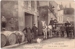 CLAMECY - Vins En Gros , V.BROMONT. - Clamecy