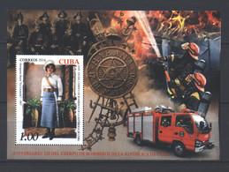 Cuba 2016 The 320th Anniversary Of Cuba Fire Department  (MNH)  - Cars, Fire, Lifeguards, Firefighters - Pompieri