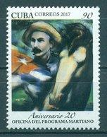 Sale - Cuba 2017 The 20th Anniversary Of The Martiano's Study Program  (MNH)  - Horses, Jose Marti - Celebrità