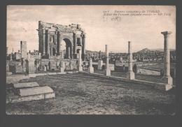 Timgad - Ruines Romaines De Timgad - L'Arc De Trajan (façade Ouest) - Algérie