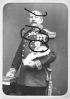 Armée Française Genéral  Bréard Portrait (6) Médailles Commandeurs - Guerre, Militaire