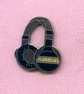 Rare Pins Casque Ecouteurs Egf Demons Et Merveilles P542 - Otros