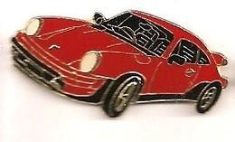 L09 Pin's PORSCHE ROUGE Ou Ferrari Ou ?? Achat Immédiat Immédiat - Porsche