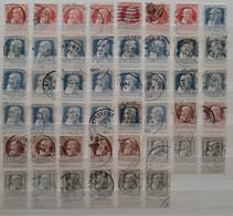 1905, Grosse Barbe, Lot De 10 à 50 Cents - 1905 Grosse Barbe