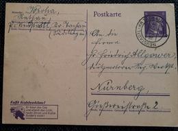 DR 1943, Postkarte P312/02 NEUSTADTL(TACHAU) - Germany