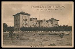 CHAVES - VIDAGO - HOTEIS E RESTAURANTES -Salus Hotel Vidago.( Ed. Cª. Portuguesa Das Águas Salus) Carte Postale - Vila Real