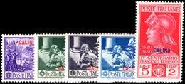 Calino 1932 Ferrucci Regular Set Lightly Mounted Mint. - Ägäis (Calino)