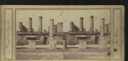 Carte Stereo Pompei Temple De Jupiter - Pompei