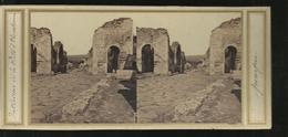 Carte Stereo Pompei Interieur De La Ported Herutarium - Pompei