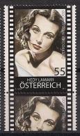 04.02.2011  Austria Österreich    Mi. 2911**MNH Hedy Lamarr - 2011-... Nuovi & Linguelle