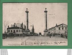 C.P.A  DE  TOULOUSE  :  COLONNES  DES  MINIMES . - Toulouse