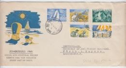 NEDERLAND FDC MICHEL 516/20 ZOMER 1949 - FDC