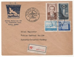 TURQUIE,TURKEI TURKEY 22-03-1960 SPECIAL POSTMARKS - 1921-... Republiek