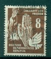 Allemagne - RDA 1950 - Y & T N. 29 - Lutte Pour La Paix (Michel N. 277) - Oblitérés