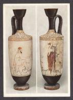 87780/ GRECE, Attische Lekythos, *Hermes Und Eine Frau*, Munich, Staatliche Antikensammlungen - Ancient World