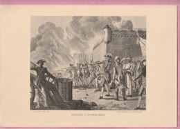 GRAVURE H P F : DUPLEIX  A  PONDICHERY - Historical Documents