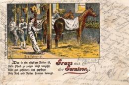 DC350 - Gruss Aus Der Garnison Pferde - Pferde