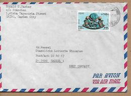 EGYPT AIRMAIL COVER Sent To Kassel 1 Stamp COVER USED - Egypt
