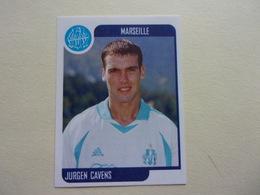 PANINI Foot 2002 N°194 Olympique De Marseille Jurgen Cavens OM - Edition Française