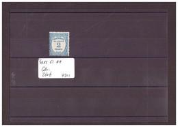 FRANCE - No Yvert Taxe 61  ** ( SANS CHARNIERE )  COTE: 260 €   à 10% De La Cote!!! - 1859-1955 Mint/hinged