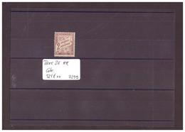 FRANCE - No Yvert Taxe 26  ** ( SANS CHARNIERE )  COTE: 325 €   à Moins De 20% De La Cote!!! - 1859-1955 Mint/hinged
