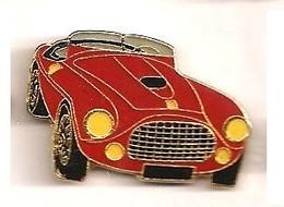 L187 Pin's  PORSCHE ROUGE Ou Ferrari Ou ?? Achat Immédiat - Ferrari