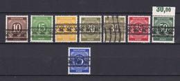 US & Britische Zone - 1948 - Michel Nr. 54+58+62/63+65/67 - Gest./Postfrisch - Bizone