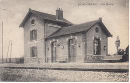 77 BEAUCHERY La Halte, La Gare - Frankreich