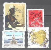 France Oblitérés : Marie Guillemine Benoist - Lille - N° 5292 & 5335 (cachet Rond) - France