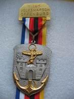 Médaille Marche Populaire Internationale Avec Le 43e RIMA Dans La Ville De OFFENBOURG - Hueste