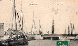CP- ILE De RE- Le Port D'Ars En Ré- - Ile De Ré