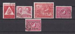 Sowjetische Zone - Allgemeine Ausgaben - 1948/49 - Michel Nr. 228/230+232/33 - Gest. - Zona Sovietica