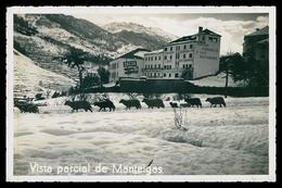 MANTEIGAS - HOTEIS E RESTAURANTES - Vista Parcial De Manteigas. Carte Postale - Guarda