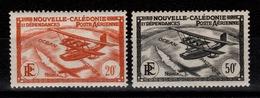 Nouvelle Calédonie - YV PA 33 & 34 N* Cote 7,25 Euros - Poste Aérienne