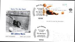 Germany FDC 2004 50 Jahre Bern - Berlin (DD22-38) - 1954 – Schweiz