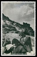 GOUVEIA - SERRA DA ESTRELA  -PASTORES - Pastores E C. Do Velho. ( Ed. Tabacaria Central Nº 49) Carte Postale - Guarda