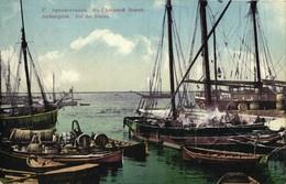 Russia, ARKHANGELSK ARCHANGELSK, Dvina River Ships (1912) Dutch Hair Water Ad - Russia
