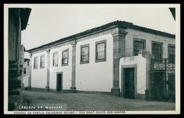 CELORICO DA BEIRA - LAGEOSA DO MONDEGO - Vivenda Da Familia Calheiros Veloso.R. Engº.Couto Dos Santos.  Carte Postale - Guarda
