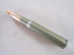 Cartouche Cal 12,7 Mm Ou Browning 50 Pour Tir Réduit (neutralisée) - Equipement