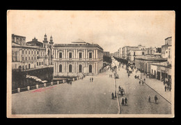 Italia, Bari. Corso Cavour. 1930. Viagiata Ferrovia. Timbro Della Ferrovia - Bari