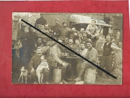 Carte Photo à Confirmer - Souvenir De Fismes à La Ferme Resson - Cachet Au Verso Troupeau De Bétail 38e D.I. Secteur Pos - Fismes