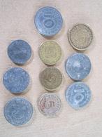 10 Pièces De Monnaies Allemandes WWII - Equipement