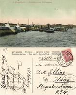 Russia, St. PETERSBURG Санкт-Петербург, Quay With Boats (1909) Postcard - Russia