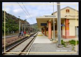 66  PORT  VENDRES -  La  Gare - Port Vendres