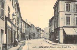 69 RHONE Petite Animation Dans La Grande Rue De CALUIRE Vue N°2 - Caluire Et Cuire