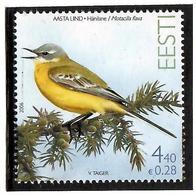 Estonia 2006 . Bird (Yellow Wagtail). 1v: 4.40.   Michel # 551 - Estonia