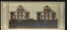 Carte Stereo  Paestum Temple Se Ceres - Altre Città